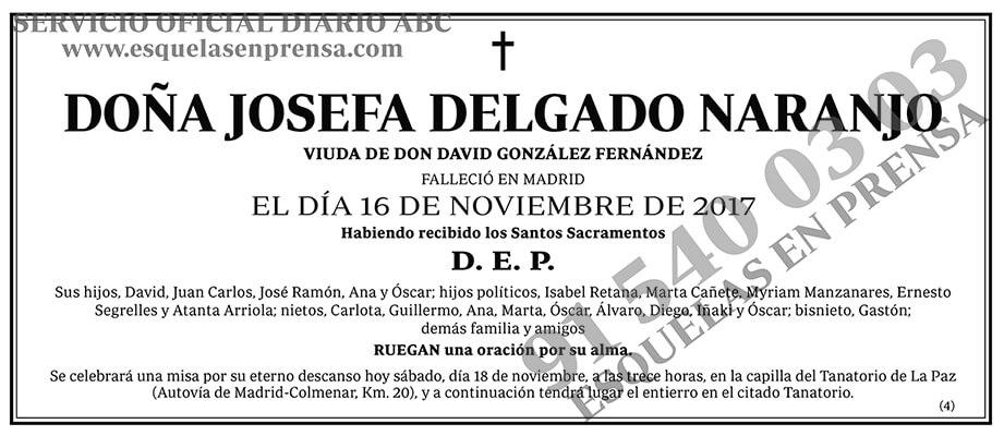 Josefa Delgado Naranjo